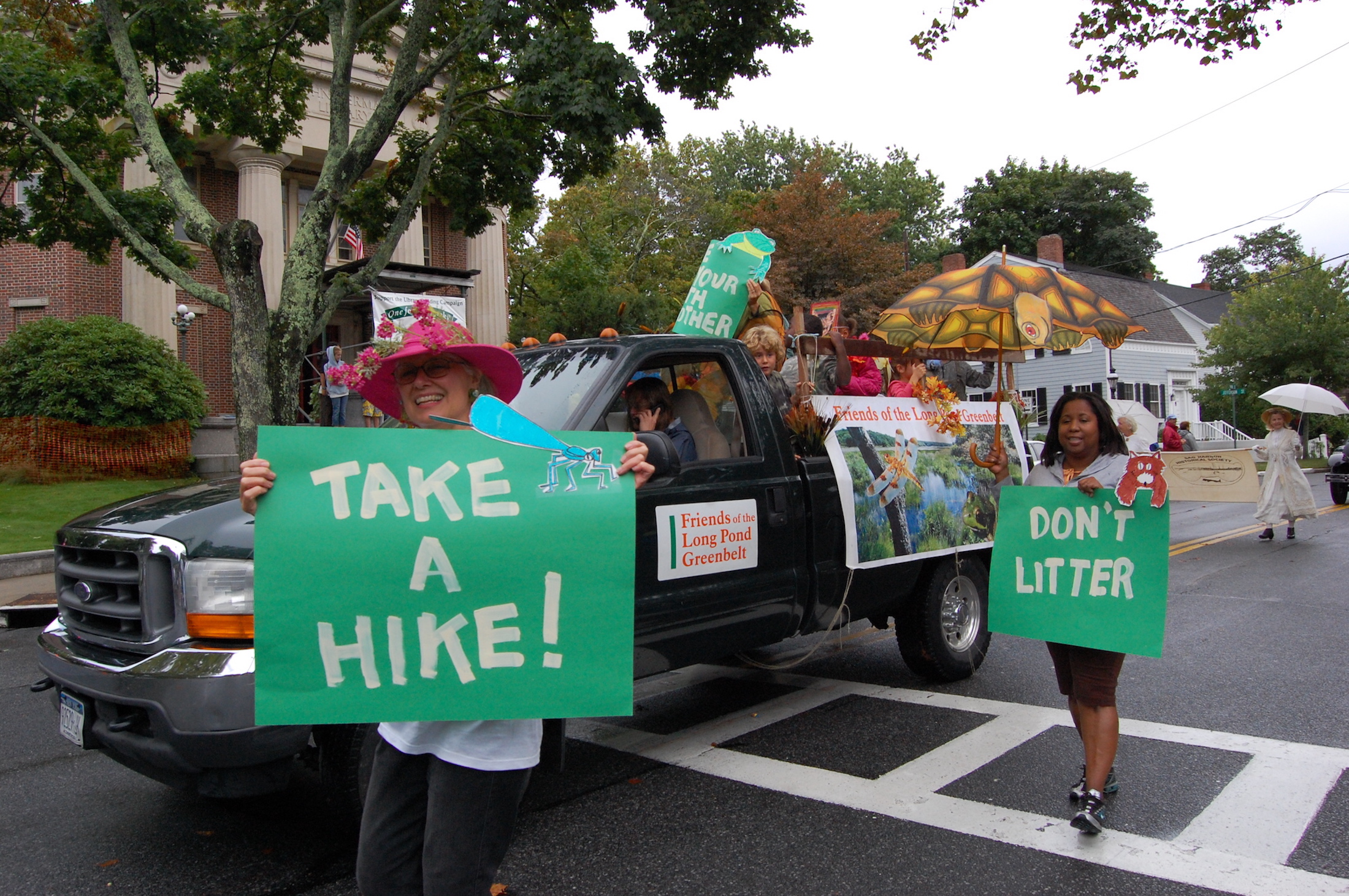 Take a hike from parade